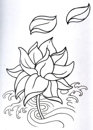 ures With Free Flower Tattoos Specially Lotus Tribal Tattoo Designs Art