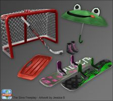 how to find woodworking items in sims freeplay