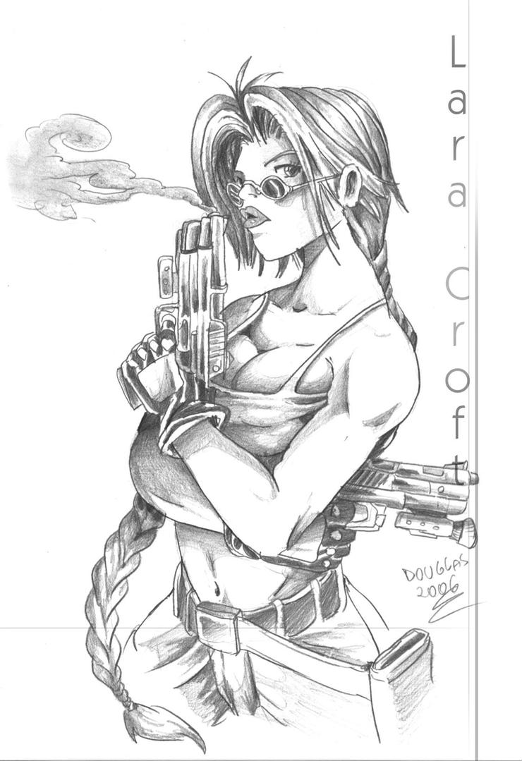 Lara Croft- Tomb Raider by DOUGLASDRACO on DeviantArt