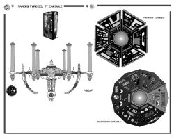 TARDIS: TT Capsule, Type 40 Mark III Page 1 by Time-Lord
