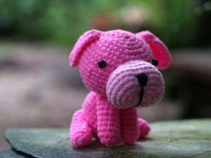 amigurumi - Pink Dog by ~zarawut