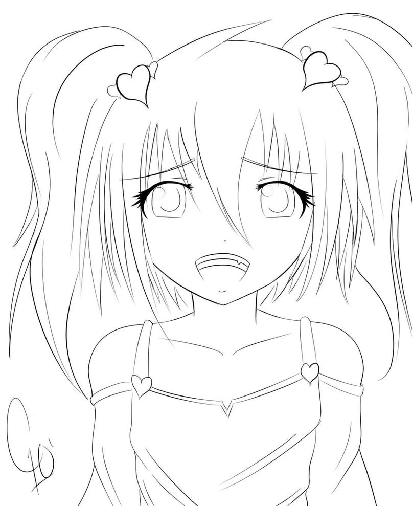 Cute Anime Drawings In Pencil