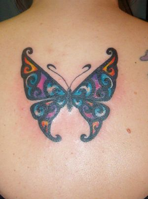 "Butterfly Upper Back Tattoos Picture 9 "" Butterfly Upper Back Tattoos"