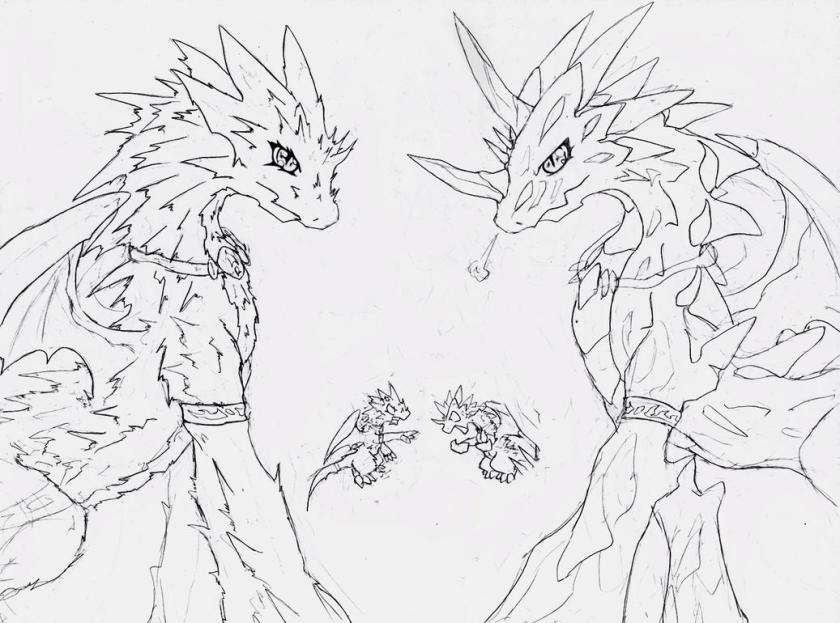 furry couple coloring coloring pages