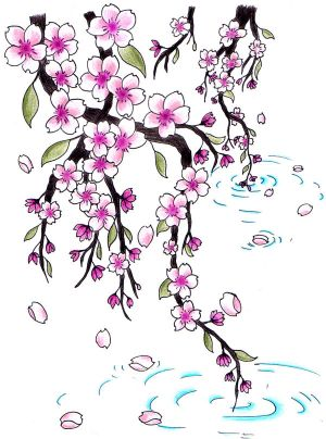 Tattoo Designs, Japanese Tattoos, Cherry Blossom Tattoo,
