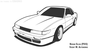 Hoonigan Nissan Silvia S14 by VicentMAutoworks on DeviantArt