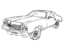 Ford Galaxy drawing by Peppercrue on deviantART