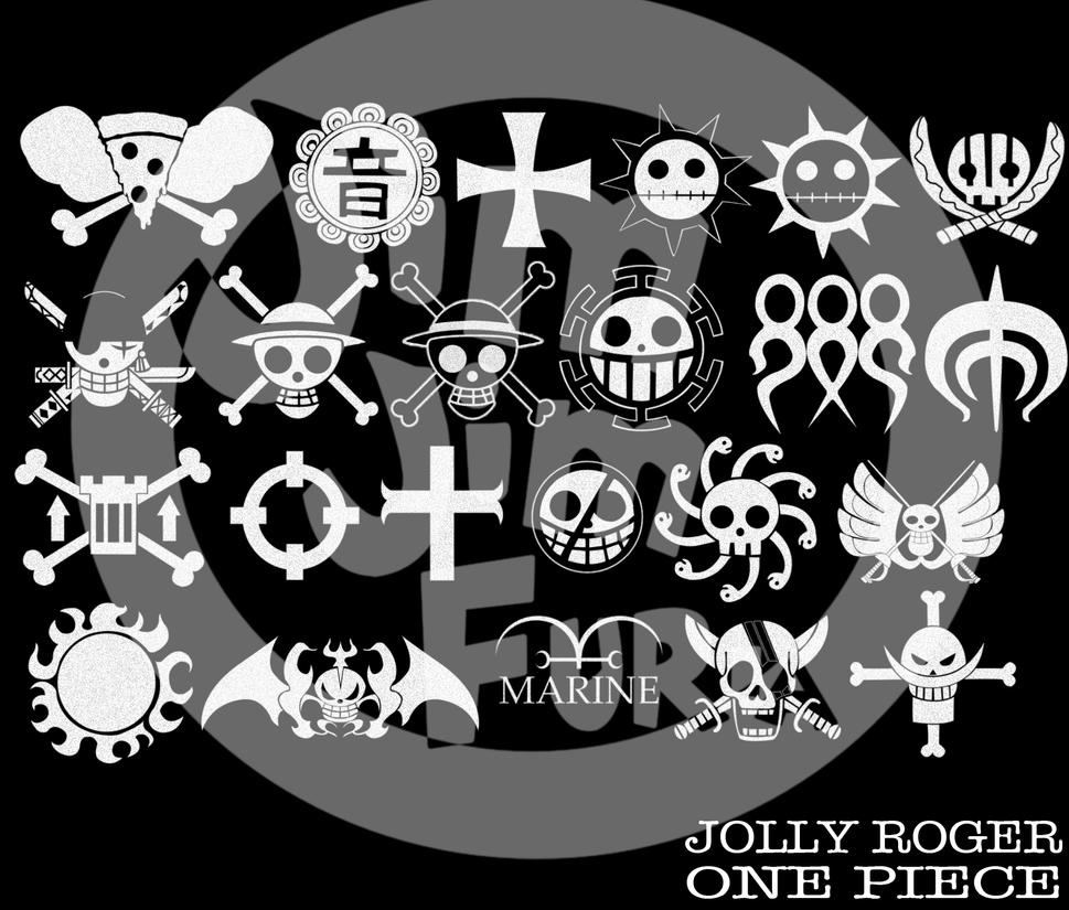 Make your device cooler and more beautiful. One Piece Jolly Roger Brushes by jimjimfuria1 on DeviantArt