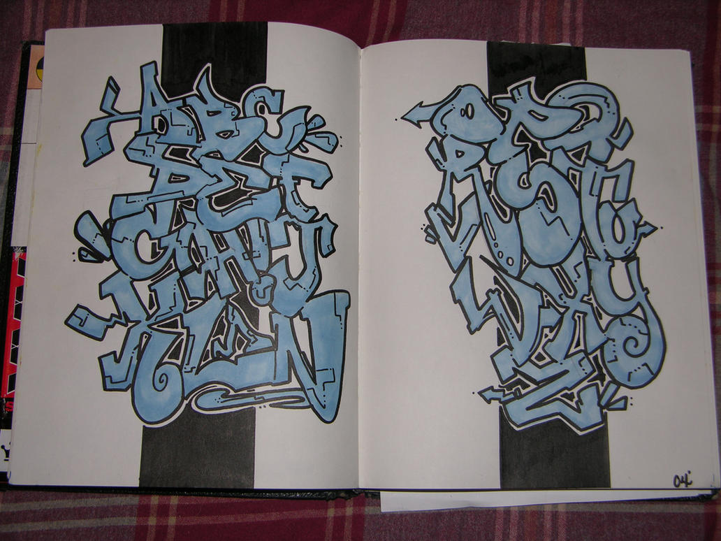 Graff Alfabet