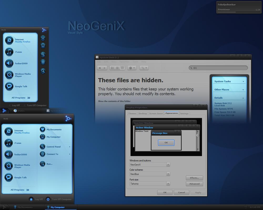 xp theme04 48 Windows XP Custom Desktop Theme Packs