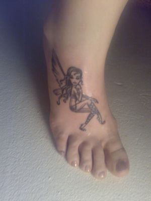 "Fairy Foot Tattoos Picture 5 "" Fairy Foot Tattoos Picture 5 """