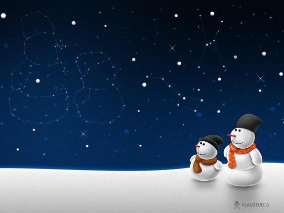 Snow Man, High Quality Merry Christmas Wallpaper