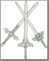 the twin swords by ember-reed on DeviantArt