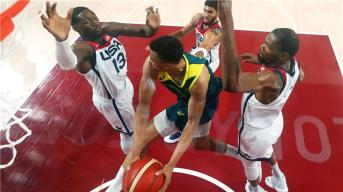 Basketball.. USA beats Australia and qualifies for the Tokyo Olympics final