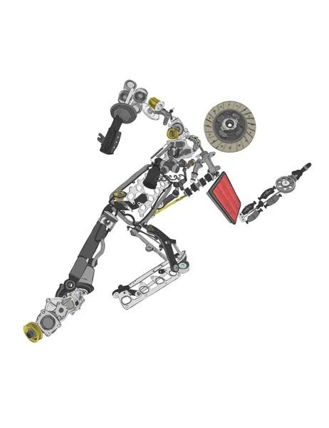 Mechanical Engineering Symbols, Mechanical, Free Engine