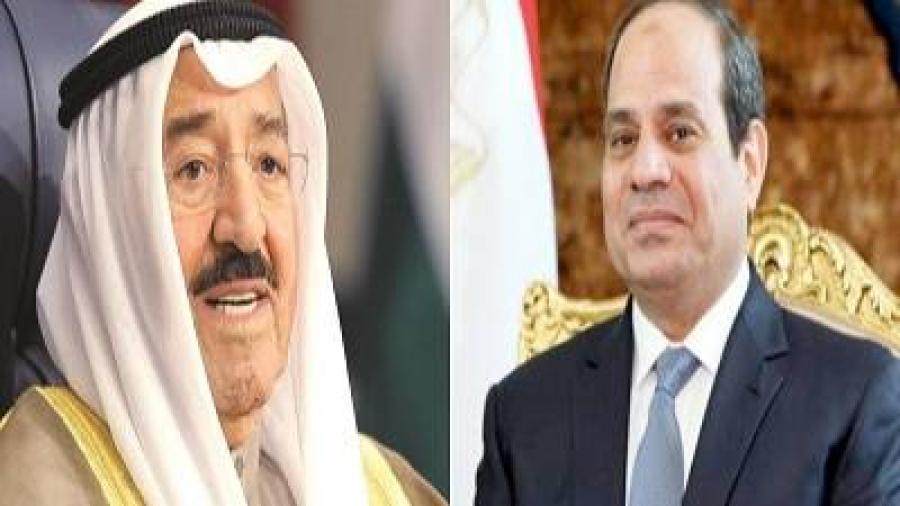 """اتصال من """"الرئيس السيسي"""" للإطمئنان على"""" الملك سلمان """"."""