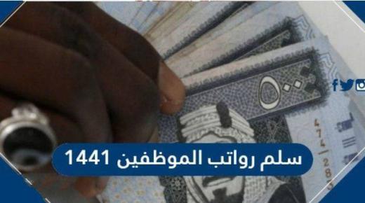 سلم رواتب الموظفين 1441 وموعد صرف العلاوة طبقًا للتعديلات الجديدة