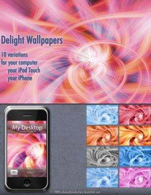 Delight Wallpapers for the iPhone