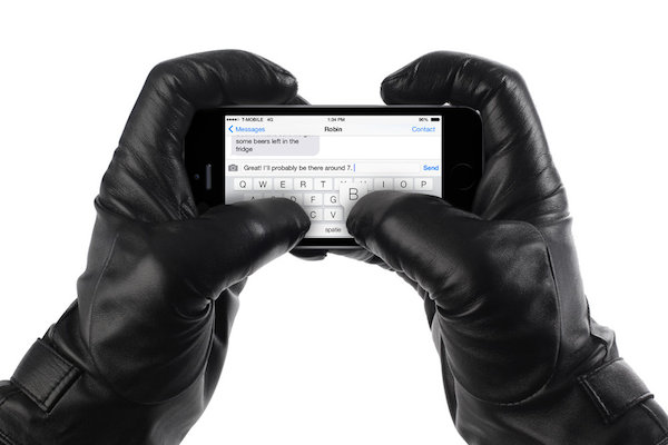 Mujjo Leather Touchscreen Gloves 04