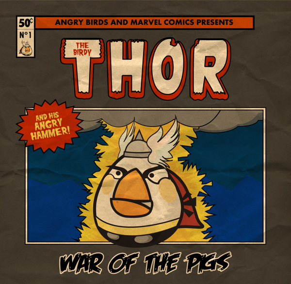 Angry Marvel Heroes by Fabio Di Corleto Thor