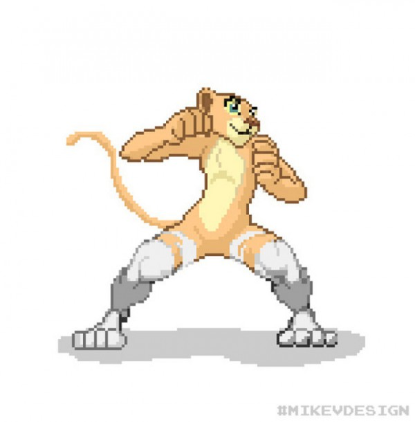 Capcom Disney Characters MikeVDesign Lion King