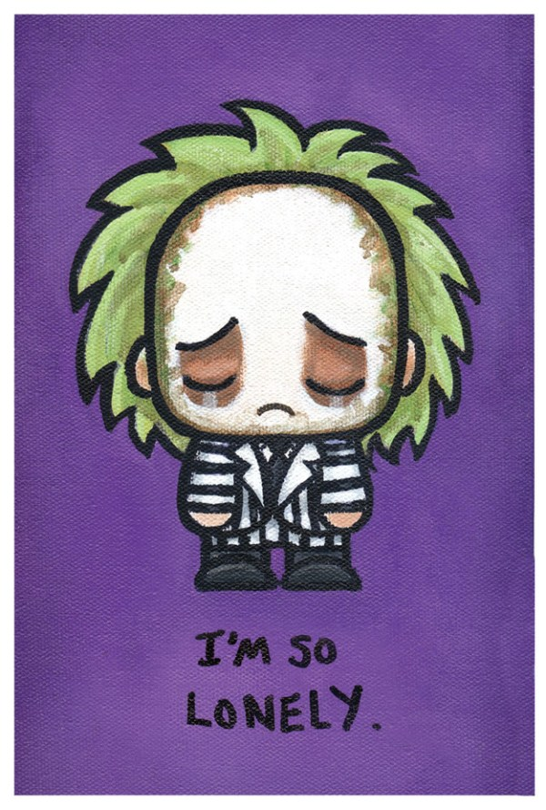 Cute Emo Pop Culture Icons Beetlejuice