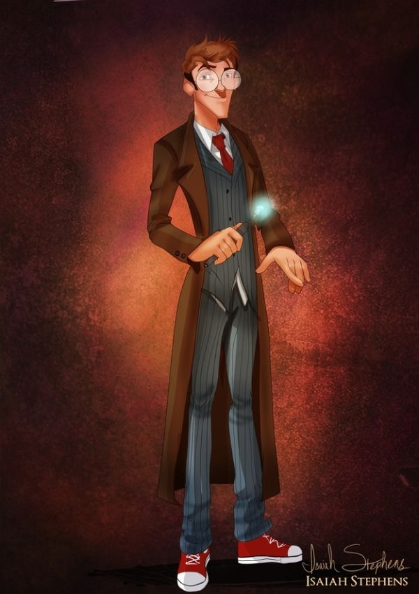 Disney Heroes Dressed Up In Awesome Halloween Costumes by Isaiah Stephens Milo Thatch