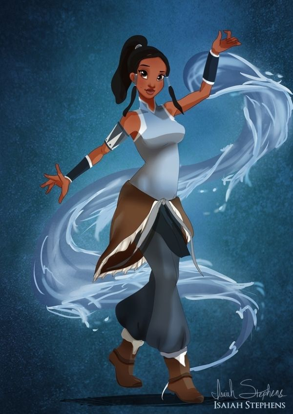 Disney Heroes Dressed Up In Awesome Halloween Costumes by Isaiah Stephens Tiana