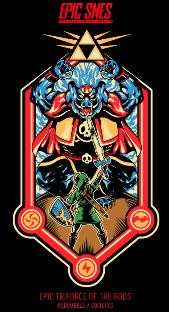 Epic SNES by Adam Works Triforce of the Gods
