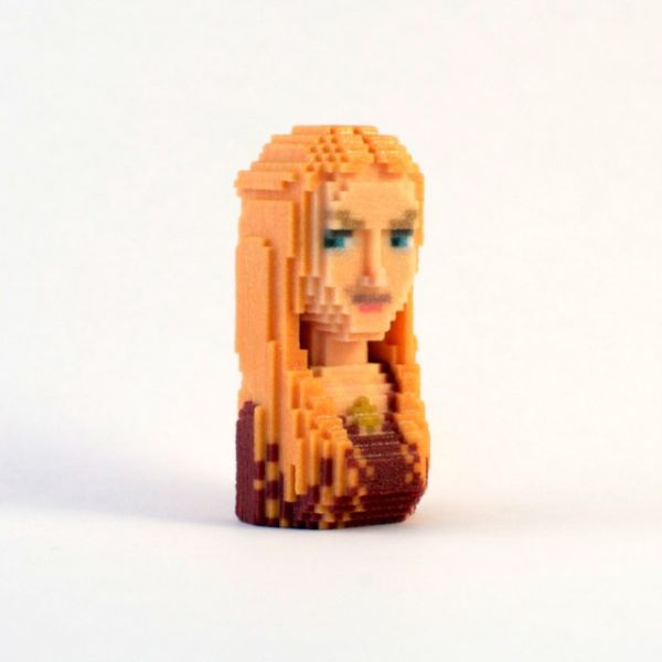 Game of Thrones in Pixels by Leblox Cersei Lannister
