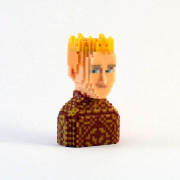 Game of Thrones in Pixels by Leblox Joffrey Lannister
