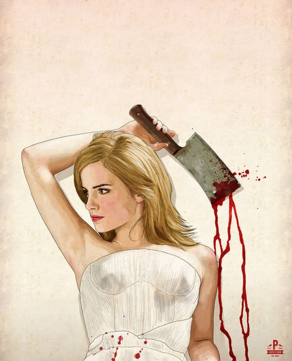 Slaughterhouse Starlets by thePisforPenis Emma Watson