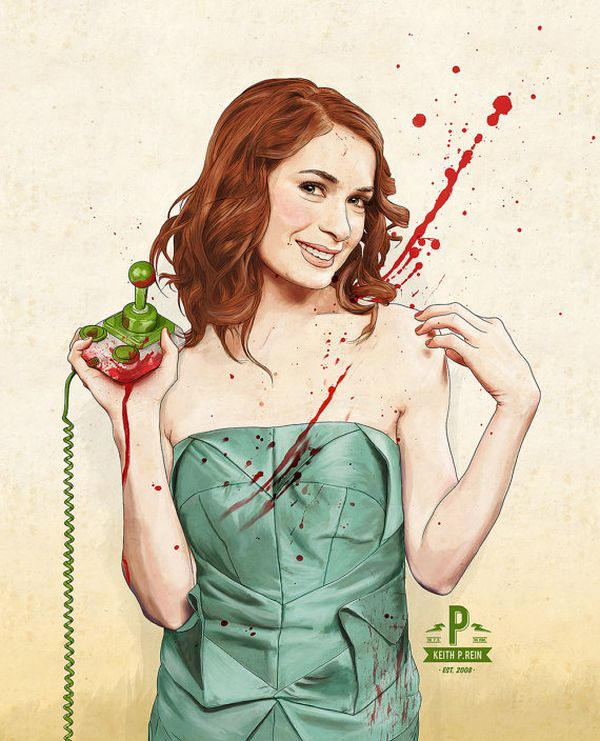 Slaughterhouse Starlets by thePisforPenis Felicia Day