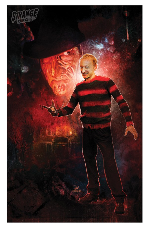 Freddy Kruger Behind the Mask by Vlad Rodriguez