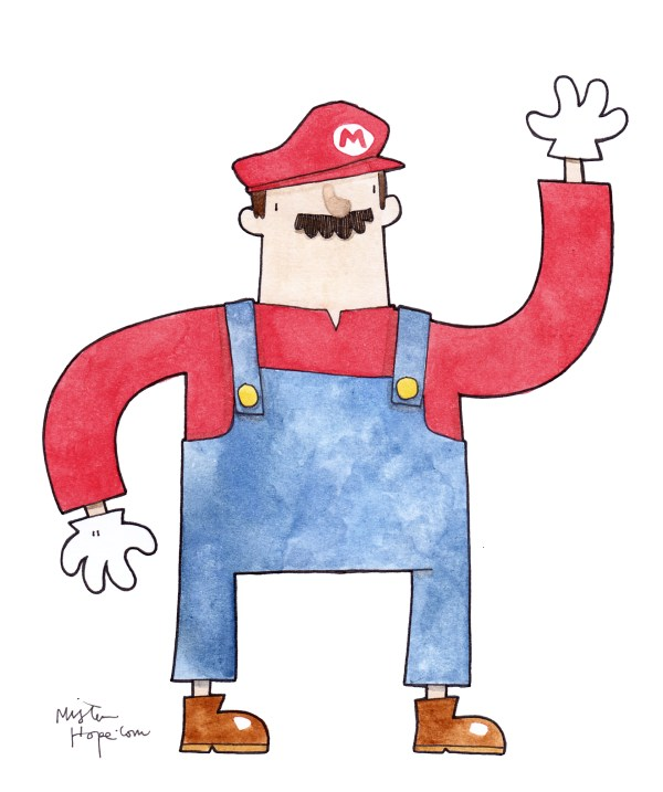 Mario-Drawings-Mister-Hope