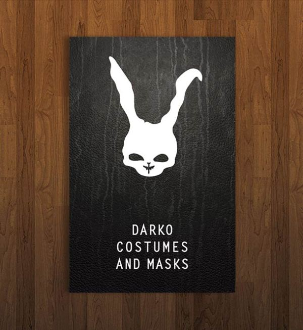 Pop Culture Icon Business Cards Darko