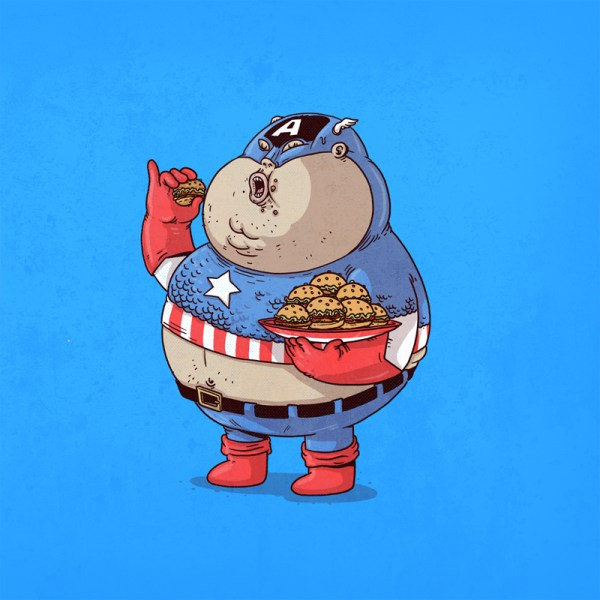 The Famous Chunkies Alex Solis Captain America