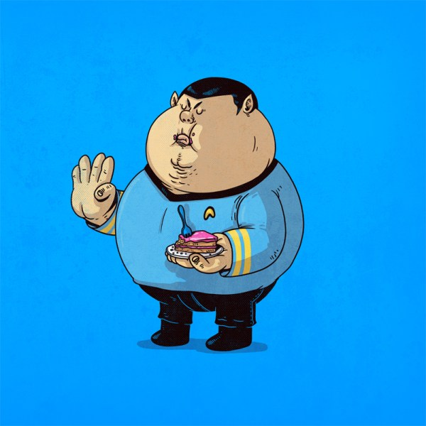The Famous Chunkies Alex Solis Spock