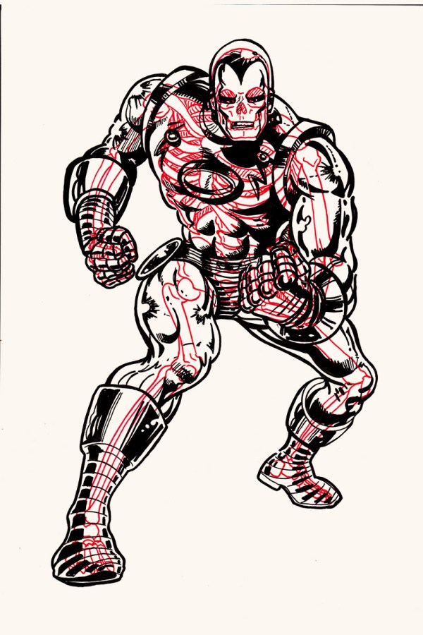 XRAY Comic Characters Iron Man by Chris Panda