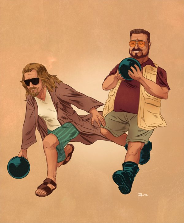pop-culture-buddies-dave-collison-big-lebowski