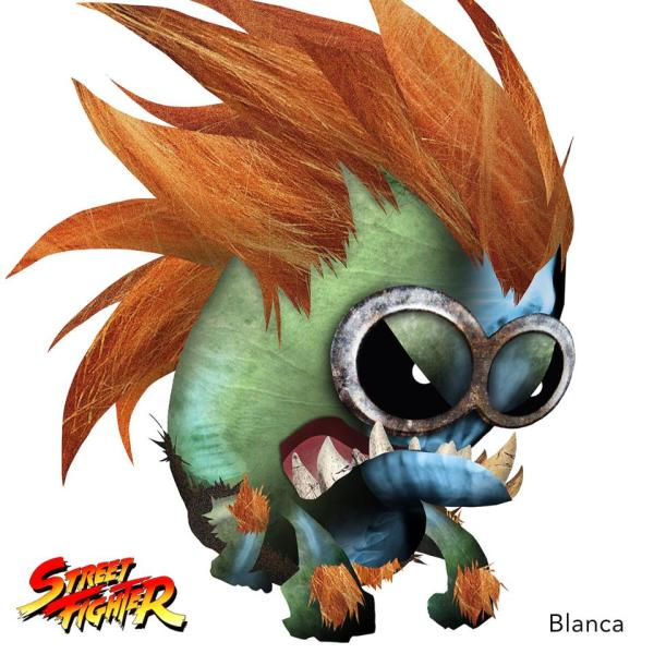 Minion Street Fighter Blanca