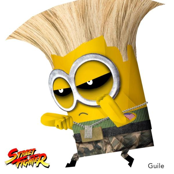 Minion Street Fighter Guile
