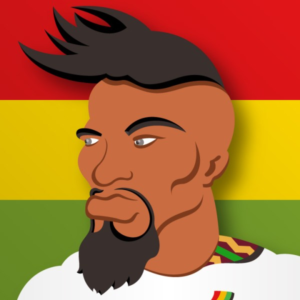 World Cup Team Leader boateng ghana