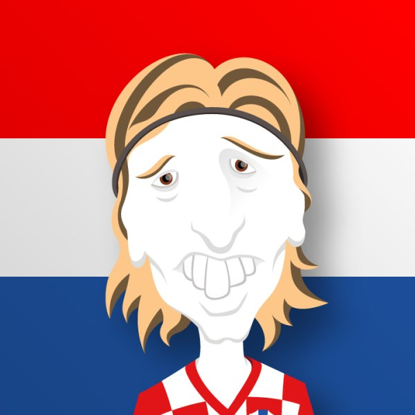 World Cup Team Leader modric kroatien