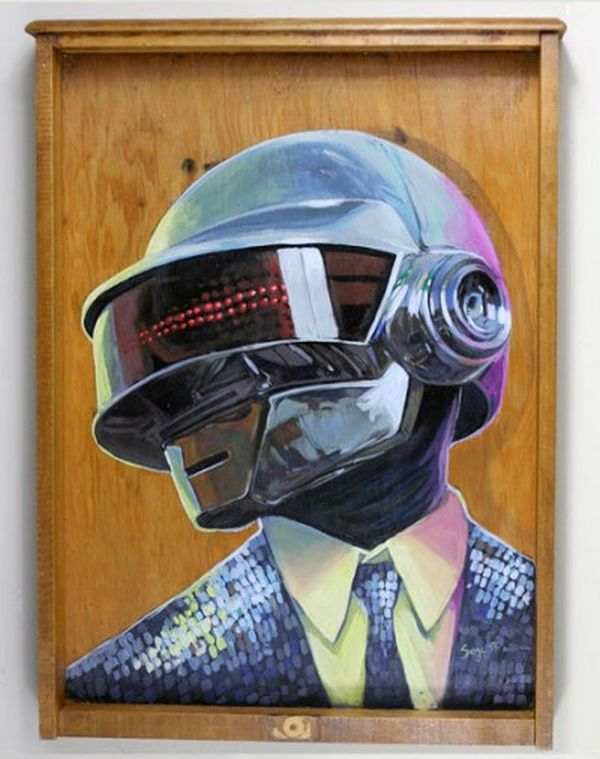 Daft Punk by Serge Gay JR 03