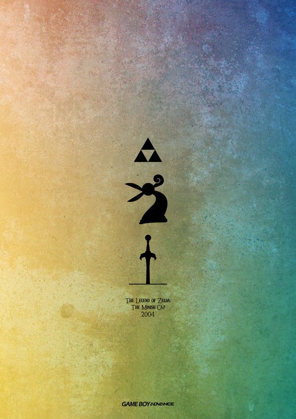 LEGEND OF ZELDA 1986 — 2013 by Esteban Hidalgo 2004