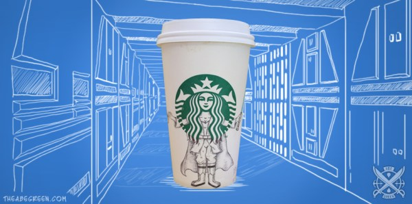 The Secret Life of the Starbucks Siren by Abe Green Jedi