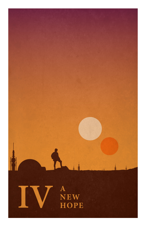 Star Wars Poster by Jonathan Ellis IV