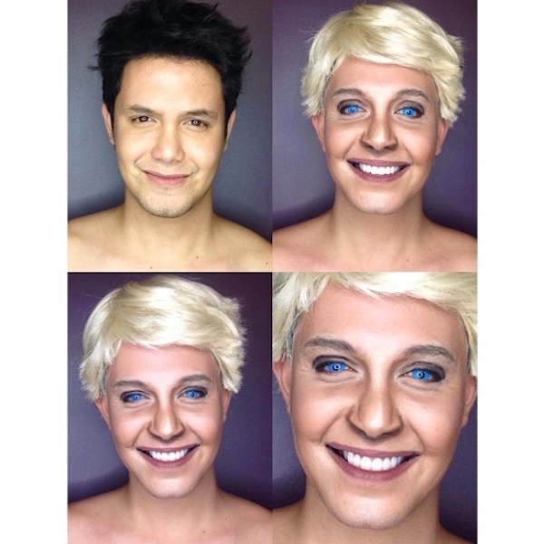 Makeup Transforms Into Various Female Celebrities by Paolo Ballesteros 08