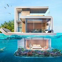 'Floating Seahorse' Homes Are Partially Submerged And Very Cool